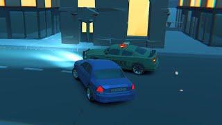 3d Night City: 2 Player Racing // Gameplay