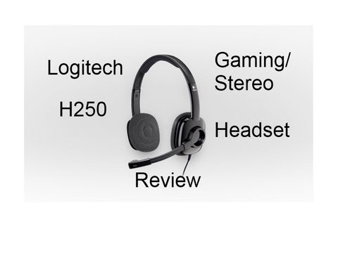 LOGITECH STEREO HEADSET H250 DRIVER DOWNLOAD