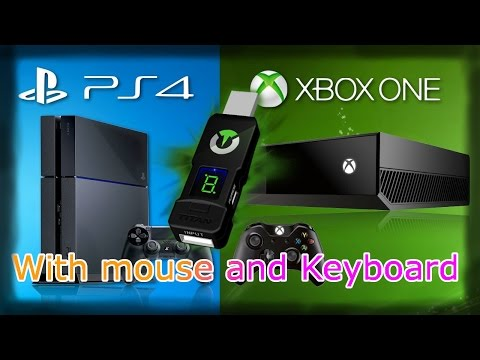 How to use a Keyboard and Mouse on PS4 & Xbox One ! - Titan One Review ! COD Advanced Warfare [HD]