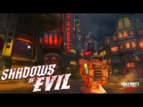Shadows of Evil - FULL EASTER EGG COMPLETE (Call of Duty: Black Ops 3 Zombies)