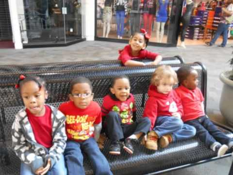 Noah s ark preschool christmas field trip to the mall and party 2013