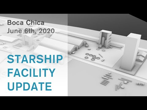 SpaceX Starship Facility Update / June 6th, 2020 / Boca Chica, Tx (SORRY: Audio on one side only!)