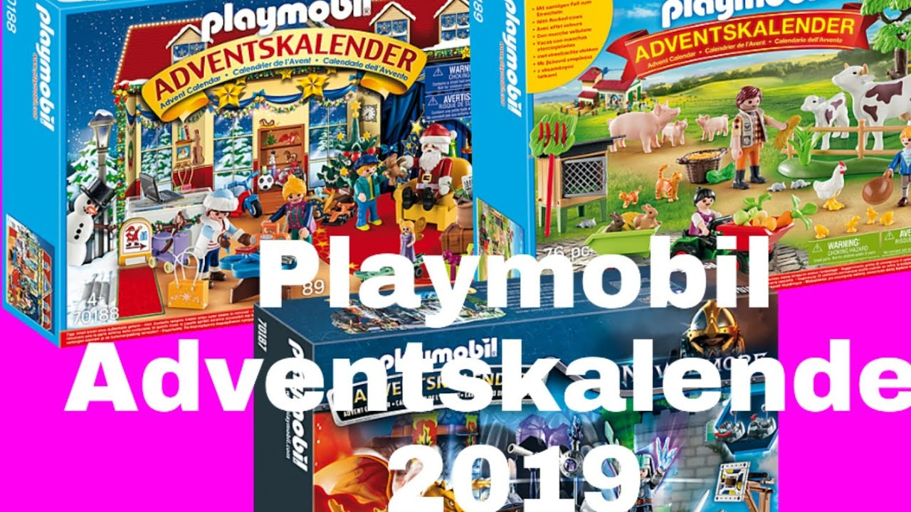 playmobil adventskalender 70187 70188 70189 neu. Black Bedroom Furniture Sets. Home Design Ideas
