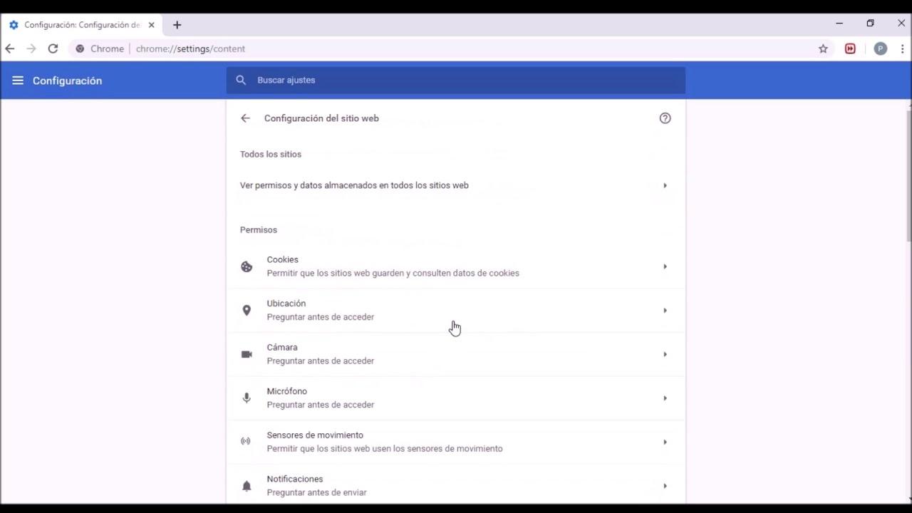 Como eliminar las notificaciones emergentes de Google Chrome