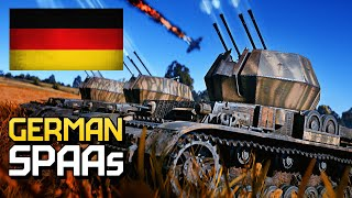 German SPAAs / War Thunder