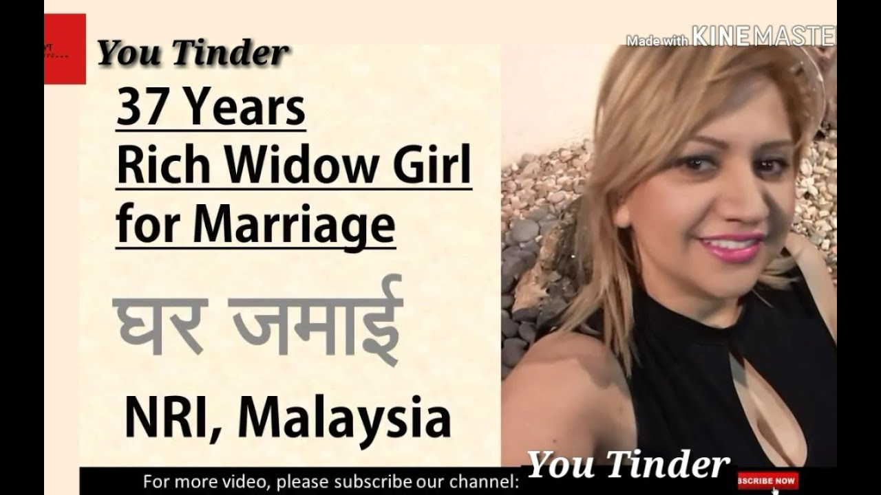 Marriage rich widow for For Widows