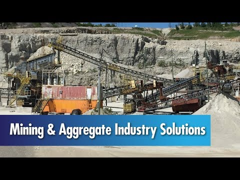 Mining & Aggregate Industry Solutions from MELTRIC