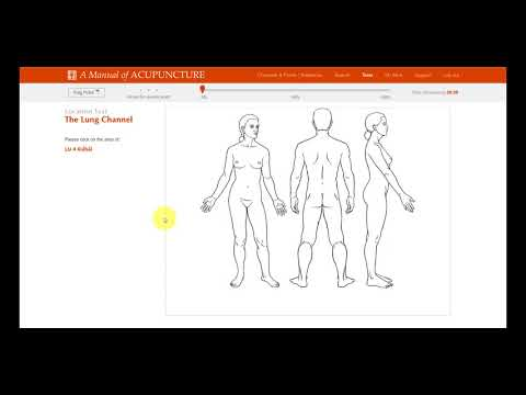 Point location tests (A Manual of Acupuncture Online Edition)