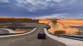 Race on LE11 - Colorisation in Trackmania United (Desert)
