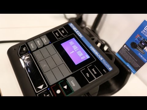 TC Helicon VoiceLive Touch 2 - Sound Demo...