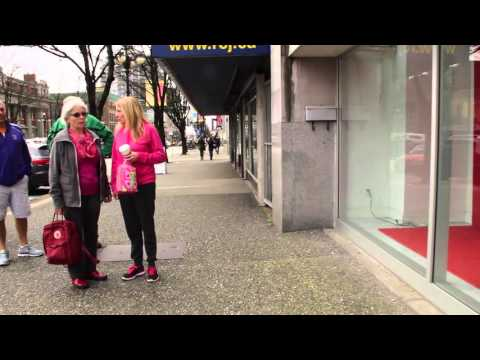 New Westminster Old Downtown Area - Walking in Town - Vancouver BC Canada Suburb