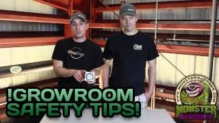 safety in the grow room   grower safety video   safe indoor garden from fire water electrical