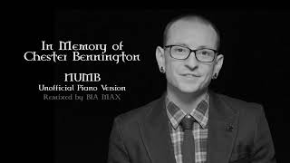 Numb- Linkin Park [SAD PIANO VERSION] with Chester Bennington's voice