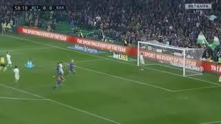 betis seville vs Barça  0-5  liga 21/01/2018