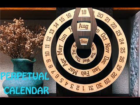 How To DIY Perpetual Calendar Paper Craft