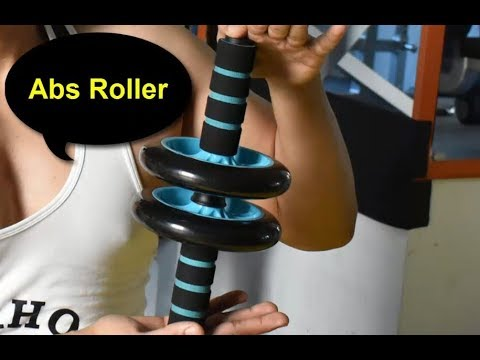 Abs Roller Wheel Workout - Weight Loss Extra Pounds at Home in 3 Minutes a Day