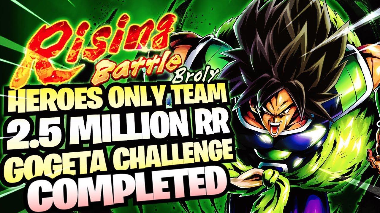 Dragon Ball Legends - Rising Battle Broly & Broly Story 2 5M Rising Rush &  Teams GUIDE!