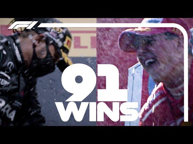 Lewis Hamilton & Michael Schumacher: 91 Wins