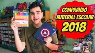 COMPRANDO MEUS MATERIAIS ESCOLARES 2018 thumbnail