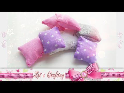 Подушка для куклы за 3 минуты