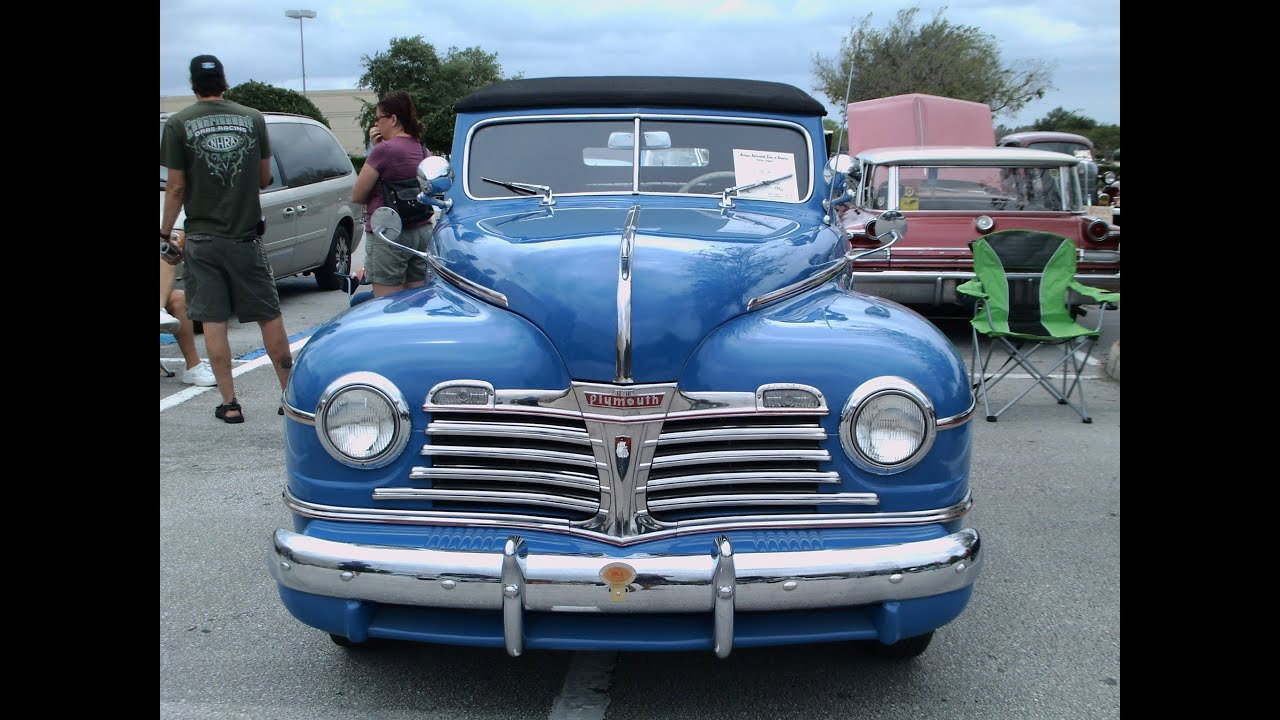 1942 Plymouth Special Deluxe Convertible Blu Woaks041412