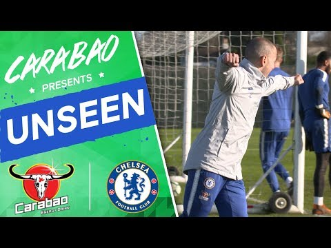 Joe Cole's First Coaching Session, Agility Race, Rondo Funnies | Chelsea Unseen