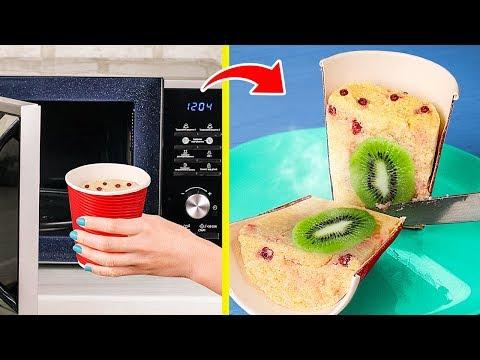 11 Лучших блюд в микроволновке / 11 Быстрых и вкусных рецептов в микроволновке