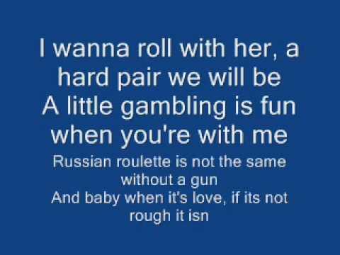 you tube poker face lyrics