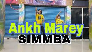 SIMMBA - Ankh Marey Dance Video | Bhaskar Paija | Dance Choreography | Ranveer Singh | Sara Ali Khan