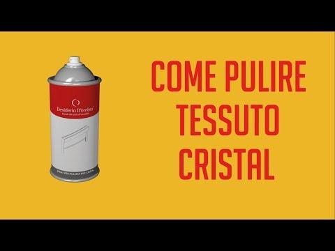 NOVITA'!!! Spray Desiderio D'ombra® per la pulizia del tessuto Cristal