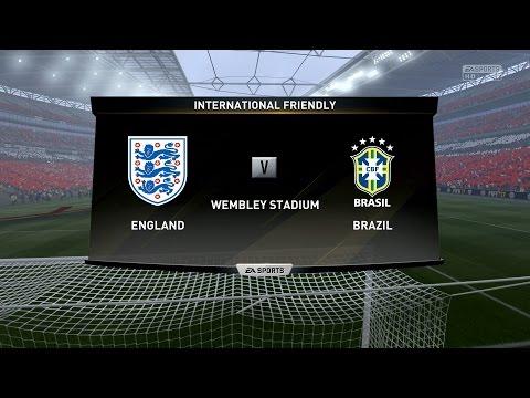 FIFA 17 | England vs Brazil - Full Gameplay (PS4/Xbox One)