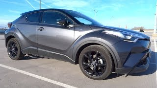 2018 Toyota C-HR 1.8 Hybrid FWD Dynamic Start-Up and Full Vehicle Tour
