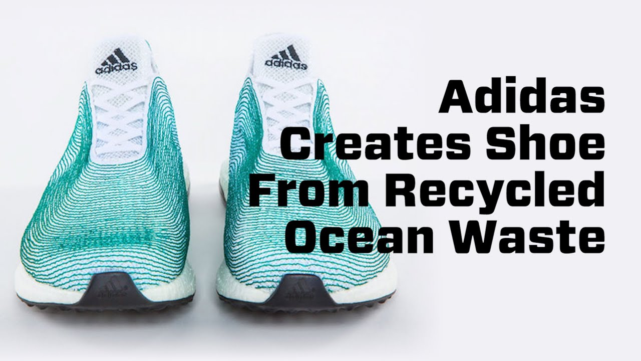 Adidas Recycled Shoes Ocean