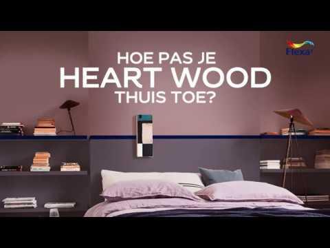 Kleurinspiratie met de Flexa Kleur van het Jaar 2018 Heart Wood ...
