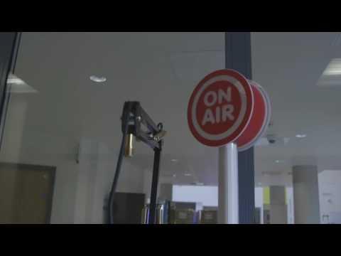 Radio Lollipop Glasgow new studio build June 2015