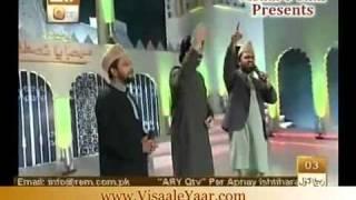 Syed Zabeeb Masood Historical Entry In Marhaba Ya Mustafa Programe QTV