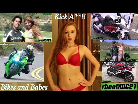 Bikes and Babes! Riding a Sportbike, Modelling Photo Shoot, Motorcycle Exhaust Sound and More!