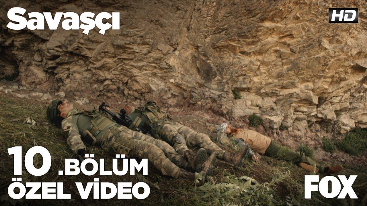Yaralı teröristi fark edemeyen Emre ve Galip'in başı dertte... Savaşçı 10. Bölüm