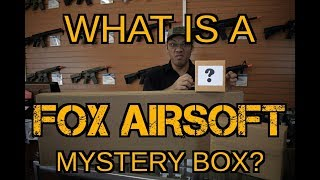 4 x $50 Mystery Box Unboxing - What Are Mystery Boxes from Fox Airsoft