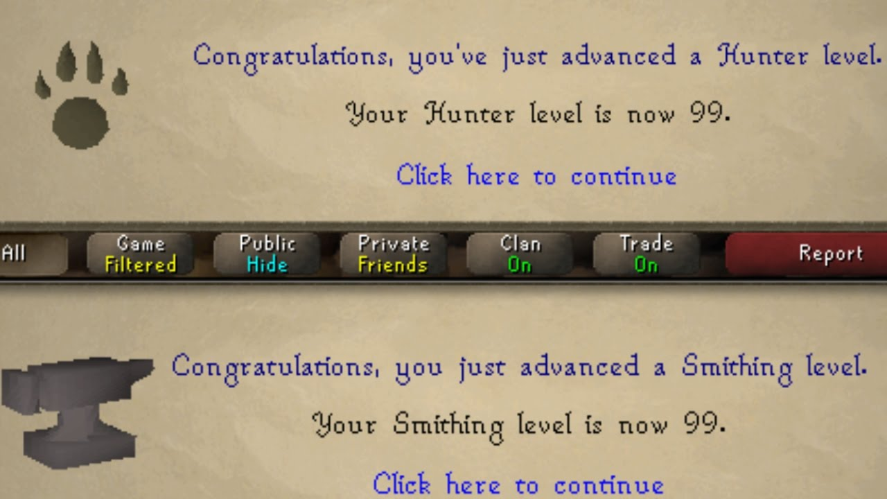 OSRS Achieving 99 Hunter Smithing