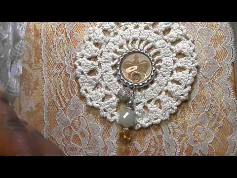Vintage Lace Book/Embellishment Box (Putsomeblingonit)