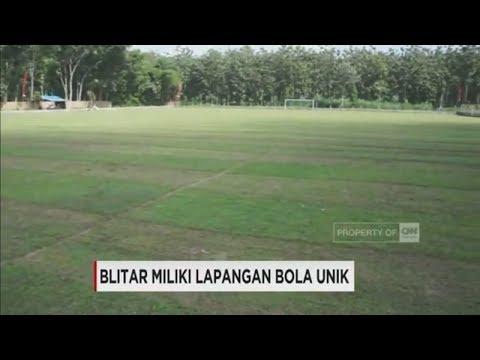 Ini Lapangan Sepakbola Unik Di Blitar