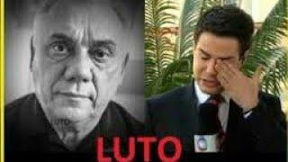 LUTO MORRE APRESENTADOR MARCELO REZENDE DE FALENCIA MULTIPLAS DOS ORGÃOS 😭