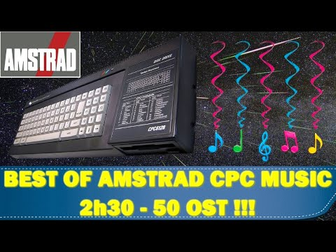 BEST OF AMSTRAD CPC OST MUSIC ( 50 OST -- 2 h 30 ) by Tarodius 🎧🔊
