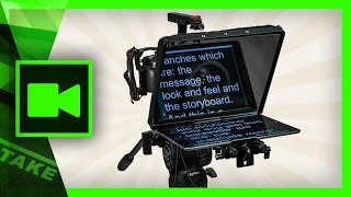 Teleprompter / Autocue tips and tricks with the Portaprompt 365 | Cinecom.net