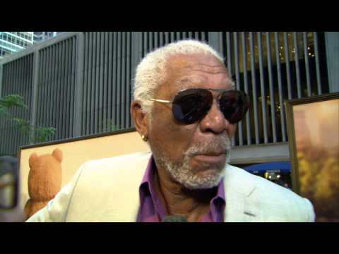 Ted 2: Morgan Freeman Red Carpet Movie Premiere Interview