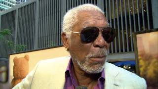 Ted 2: Morgan Freeman Red Carpet Movie Premiere Interview