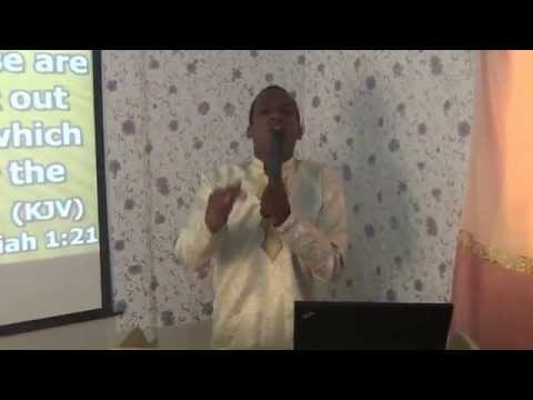 Breaking Invisible Barriers - Prophet Gerald Edward Tandoh