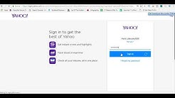Creating a business email with yahoo small business for yoonla