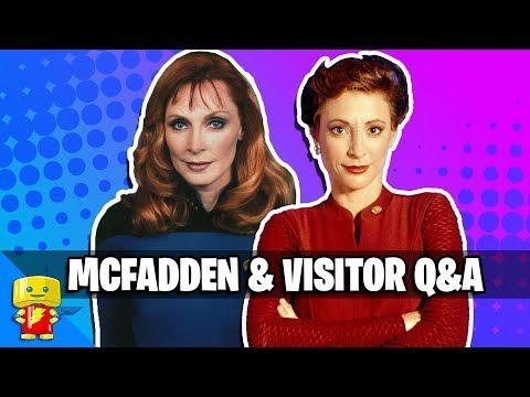 Gates McFadden and Nana Visitor Q&A